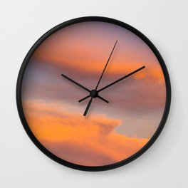 Try to look away Sky Wall Clock