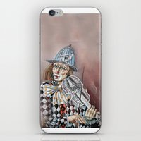 clown iPhone & iPod Skins featuring Clown by SilviaGancheva