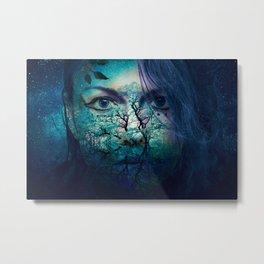 Diana-Goddess of nature Metal Print