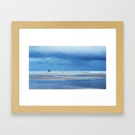 Blue Wednesday Framed Art Print