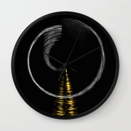 Digi-Spiral Wall Clock