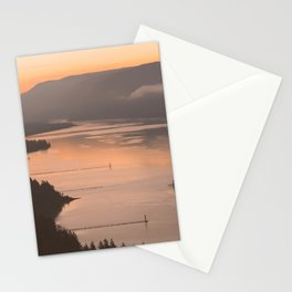 Pacific Northwest Sunrise - nature photography Stationery Cards