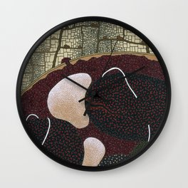 just a little infection Wall Clock