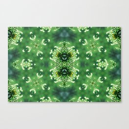 Flying Moss Canvas Print