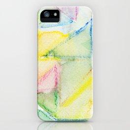 Watercolor Triangle Pattern - Katrina Niswander iPhone Case