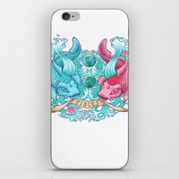 pisces iPhone & iPod Skins featuring Pisces by StudioBlueRoom