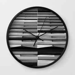 Intersections 1 Wall Clock