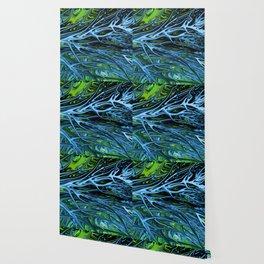 Emerald Ice Lightning V by Chris Sparks. Wallpaper