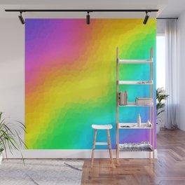 Magical Rainbow Gradient Dragon Scales! Wall Mural