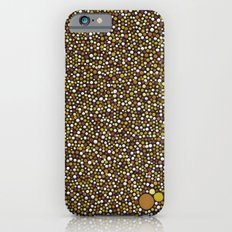 Yellow Dot Color Design Slim Case iPhone 6s