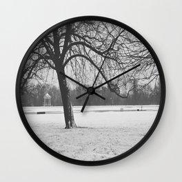 Early Morning Stillness  Wall Clock