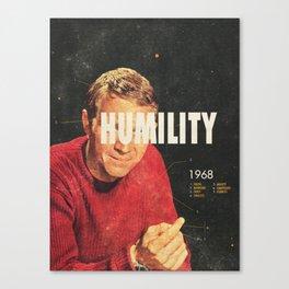 Humility 1968 Canvas Print