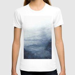 Indigo Abstract Painting | No.2 T-Shirt