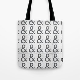 Helvetica Ampersand - Happy National & Day! Tote Bag