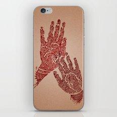Mehndi iPhone Skin