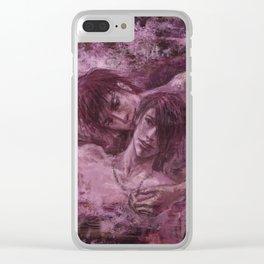 Sakura Onsen Clear iPhone Case