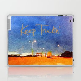 Keep Truckin' Laptop & iPad Skin