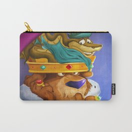 """Prince John & Sir Hiss"" Carry-All Pouch"