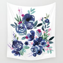 Athena Flowers Wall Tapestry