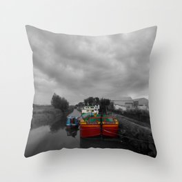 Sequana | Beverley Canal Throw Pillow