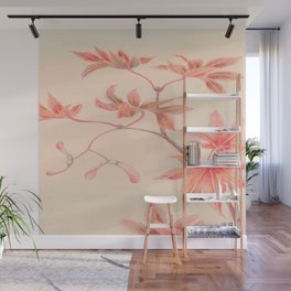 Japanese Maple Leaves Wall Mural