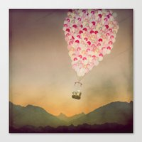 never stop exploring Canvas Prints featuring NEVER STOP EXPLORING V by Monika Strigel®