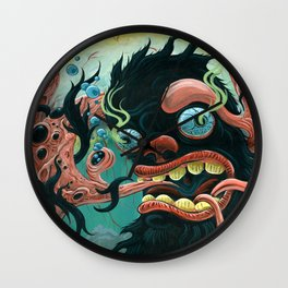 Guardian of the Bubble Pipes of Creation Wall Clock