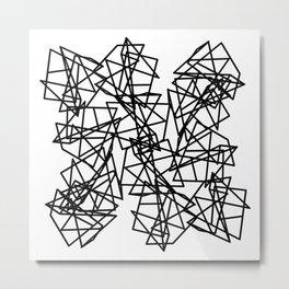Chaos Metal Print