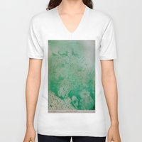 under the sea V-neck T-shirts featuring Under The Sea by ANoelleJay