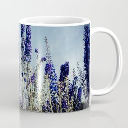 Delphinums, fairbanks alaska Coffee Mug