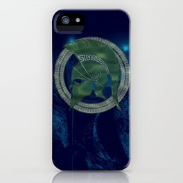 TROJAN HERO iPhone Case