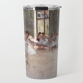 Ballet Rehearsal 1873 By Edgar Degas | Reproduction | Famous French Painter Travel Mug