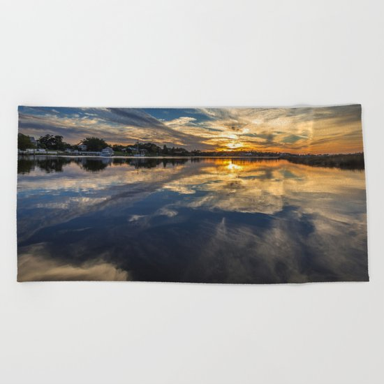 Cloud Art Beach Towel