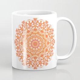Mandala 12 / 5 eden spirit orange Coffee Mug