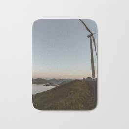 Mountaintop Turbine Bath Mat