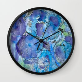 Hydrangea Dream Wall Clock