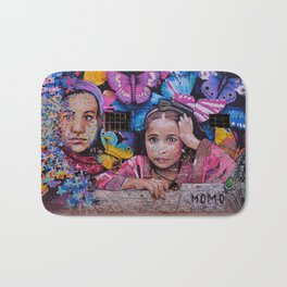 Child of Innocence - Graffiti Bath Mat
