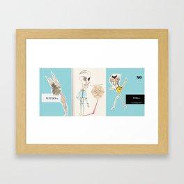 no Framed Art Print