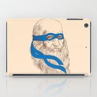 leonardo dicaprio iPad Cases featuring Leonardo by Fresco Umbiatore