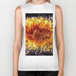 Fire Flower - Vulpecula Biker Tank