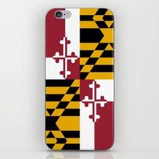 State flag of Flag Maryland iPhone & iPod Skin