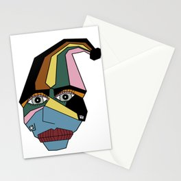 Woman in Hat Stationery Cards