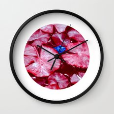 blue frog VI Wall Clock