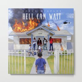 Staples Vince Hell Can Wait Metal Print