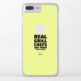 Real Grill Chefs are from Kuala Lumpur Dne7x Clear iPhone Case