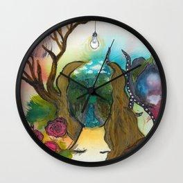 Woman: Alba Wall Clock