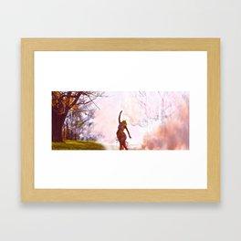 Light Returns to Life Framed Art Print