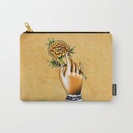 Flor de cempazuchitl Carry-All Pouch