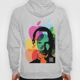 Lab No. 4 - Steve Jobs Inspirational Typography Print Poster Hoody