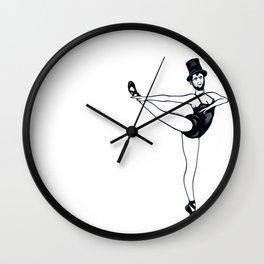 Abraham Lincoln the Ballerina Wall Clock